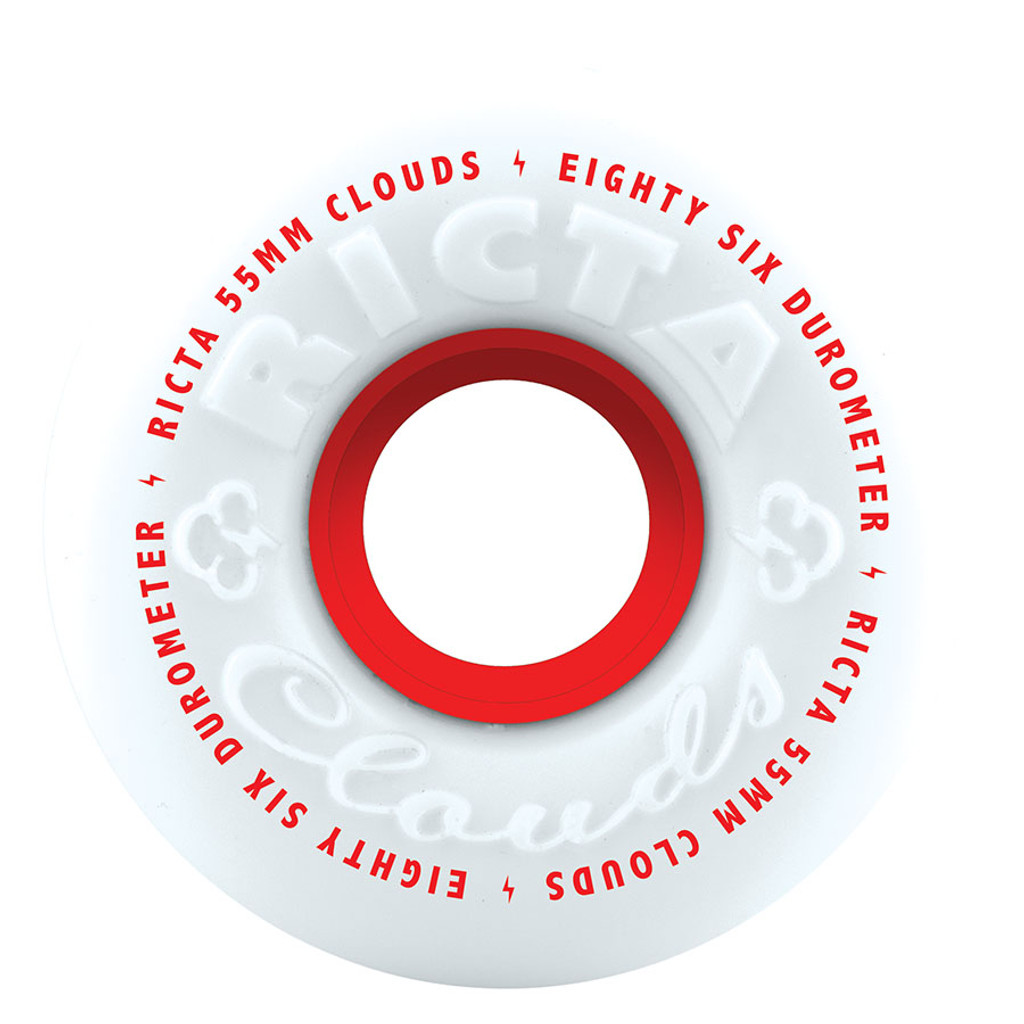 Ricta Clouds Wheels 55mm/86a (Set of 4)