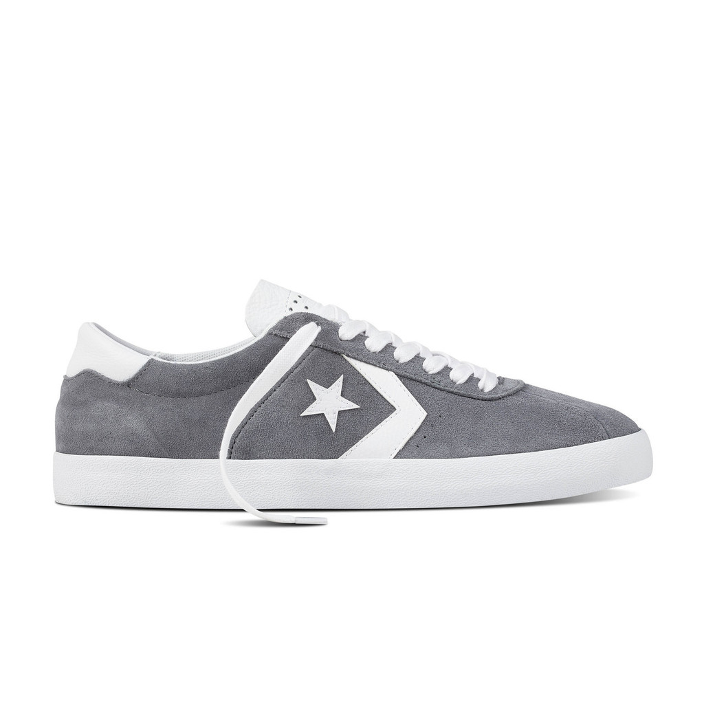 Converse CONS Breakpoint Pro Suede Shoes (Cool Grey) FREE USA SHIPPING