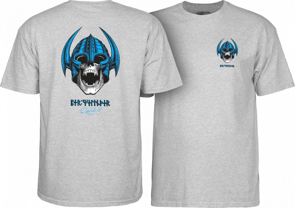 Powell Peralta Old School Welinder Nordic Skull T-Shirt (Available in 4 Colors)