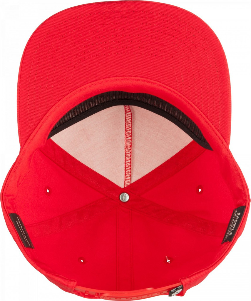 Powell Peralta Rat Bones Snapback Hat (Red)