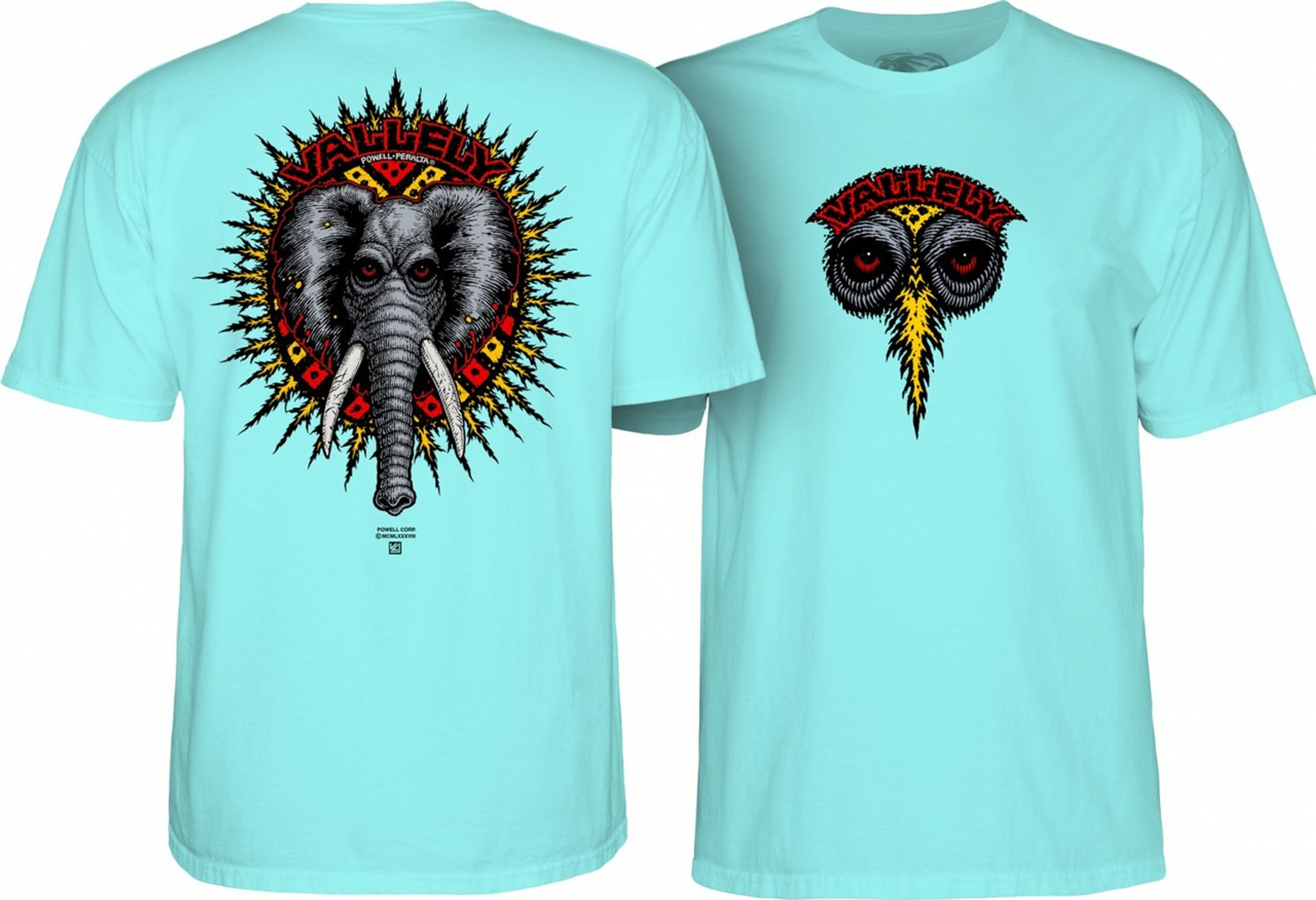 271878b7aefccf Powell Peralta Mike Vallely Elephant T-Shirt Old School