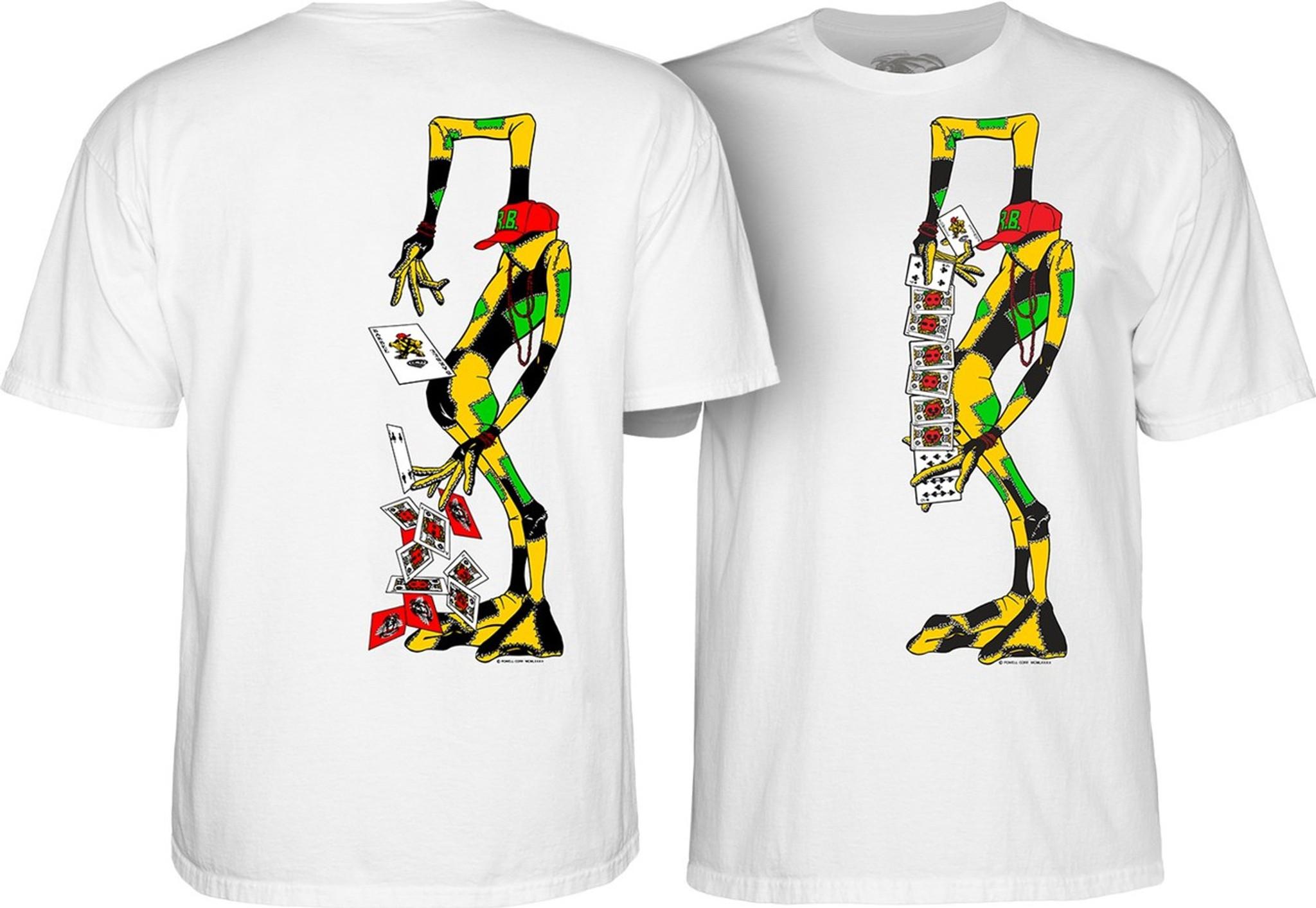 Powell Peralta Ray Barbee RAG DOLL Skateboard T Shirt RED XL