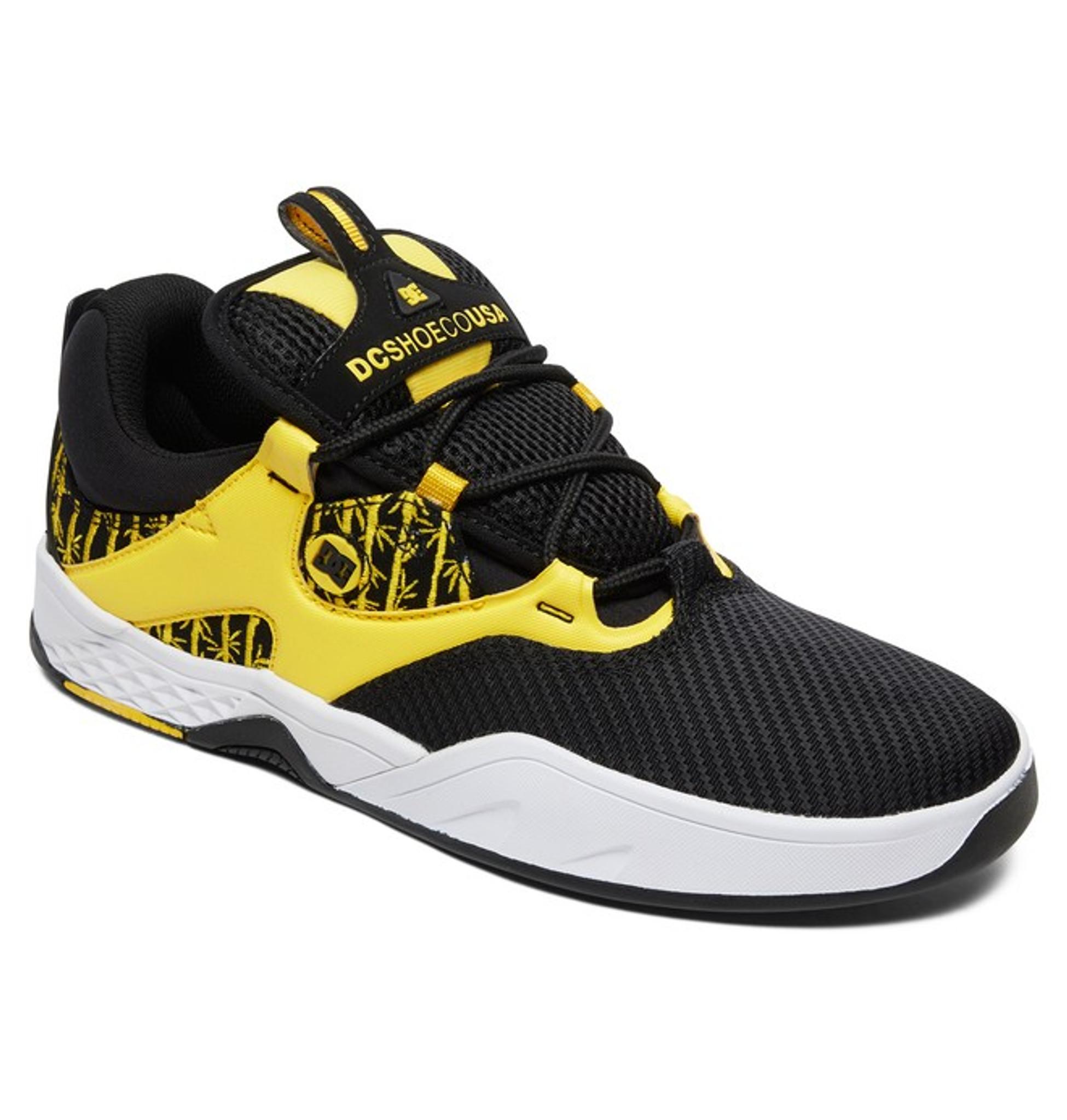 DC Kalis S TX SE Black Yellow Sneakers