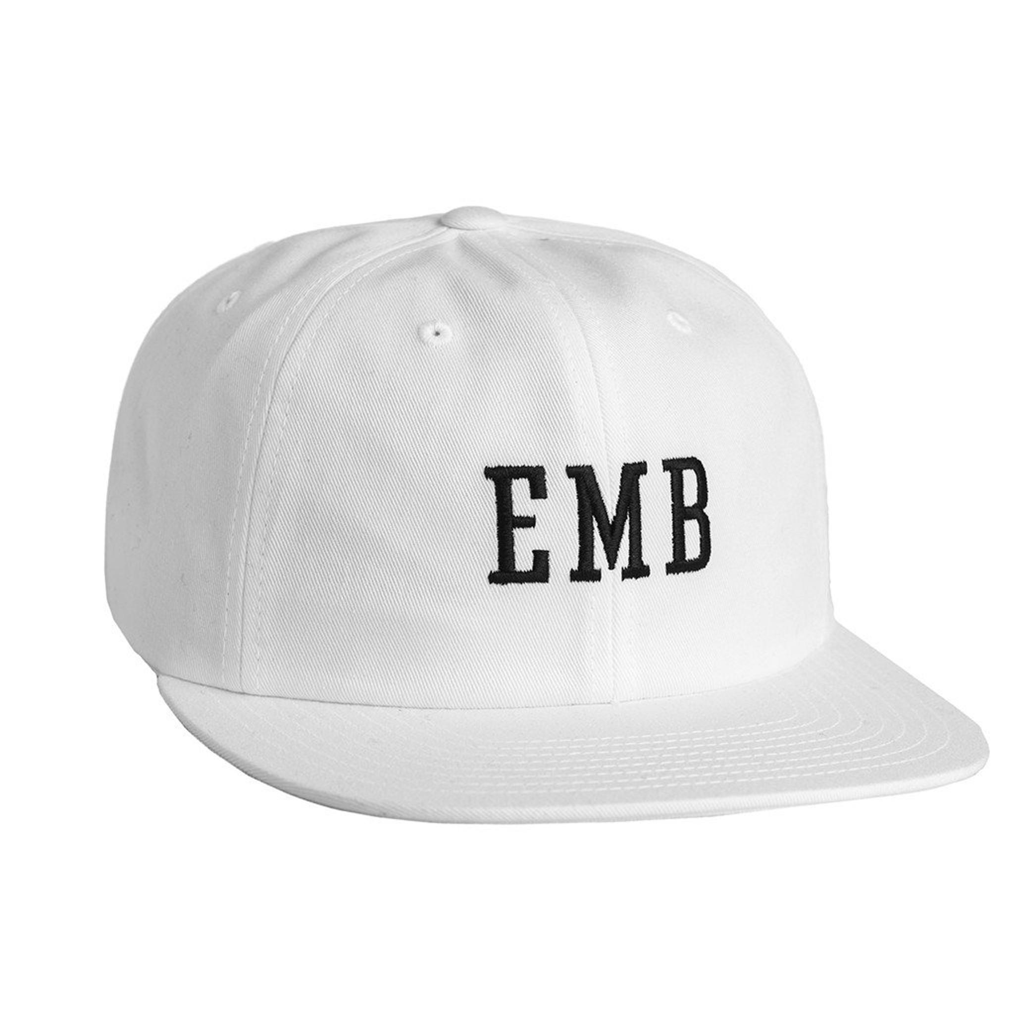 najlepiej sprzedający się najlepsze trampki klasyczne style HUF EMB 6 PANEL \ WHITE HAT