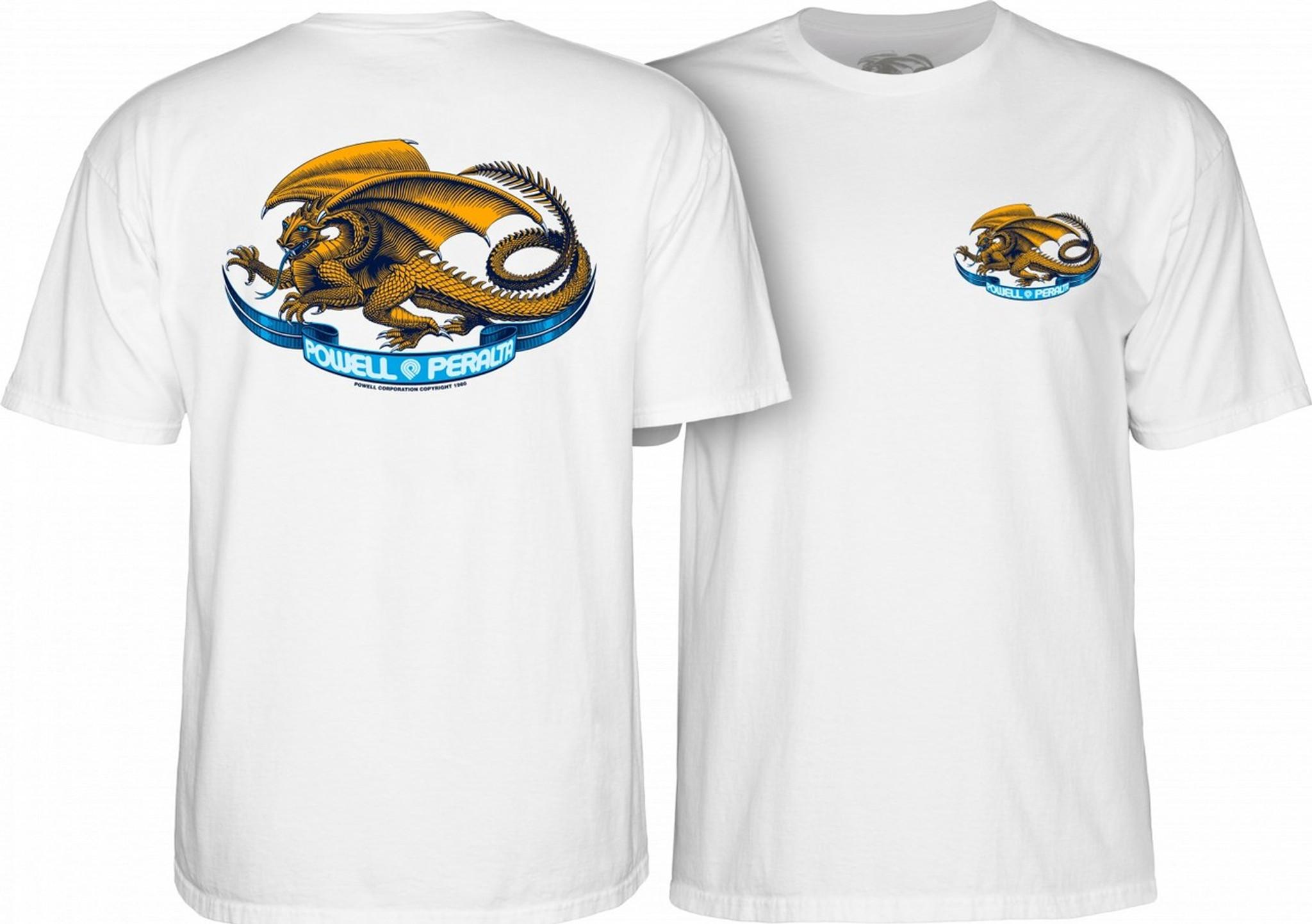 Powell Peralta Oval Dragon S//S T-Shirt Black