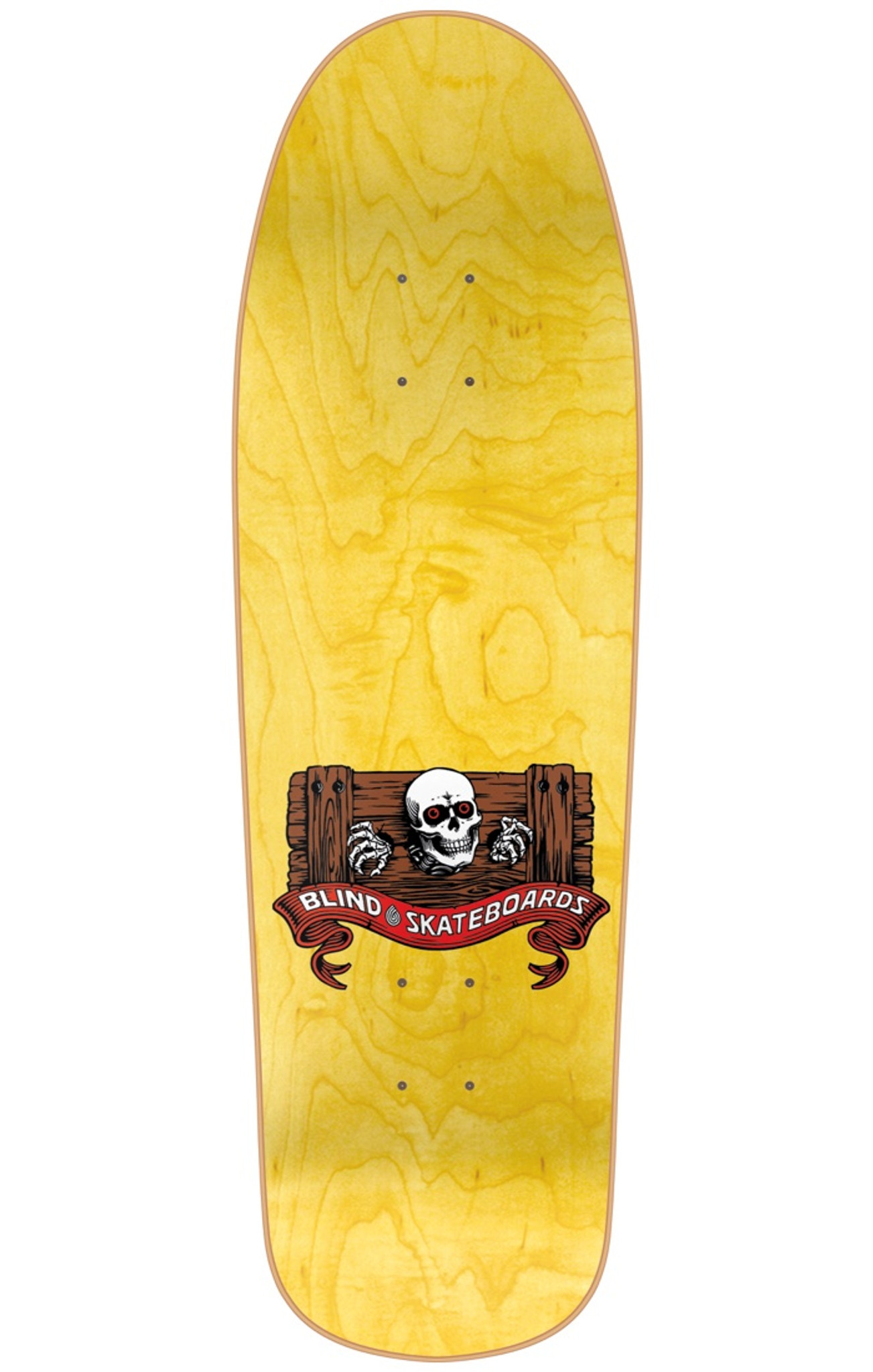 Blind Mark Gonz Gonzales Skull Banana Re Issue Deck Screened