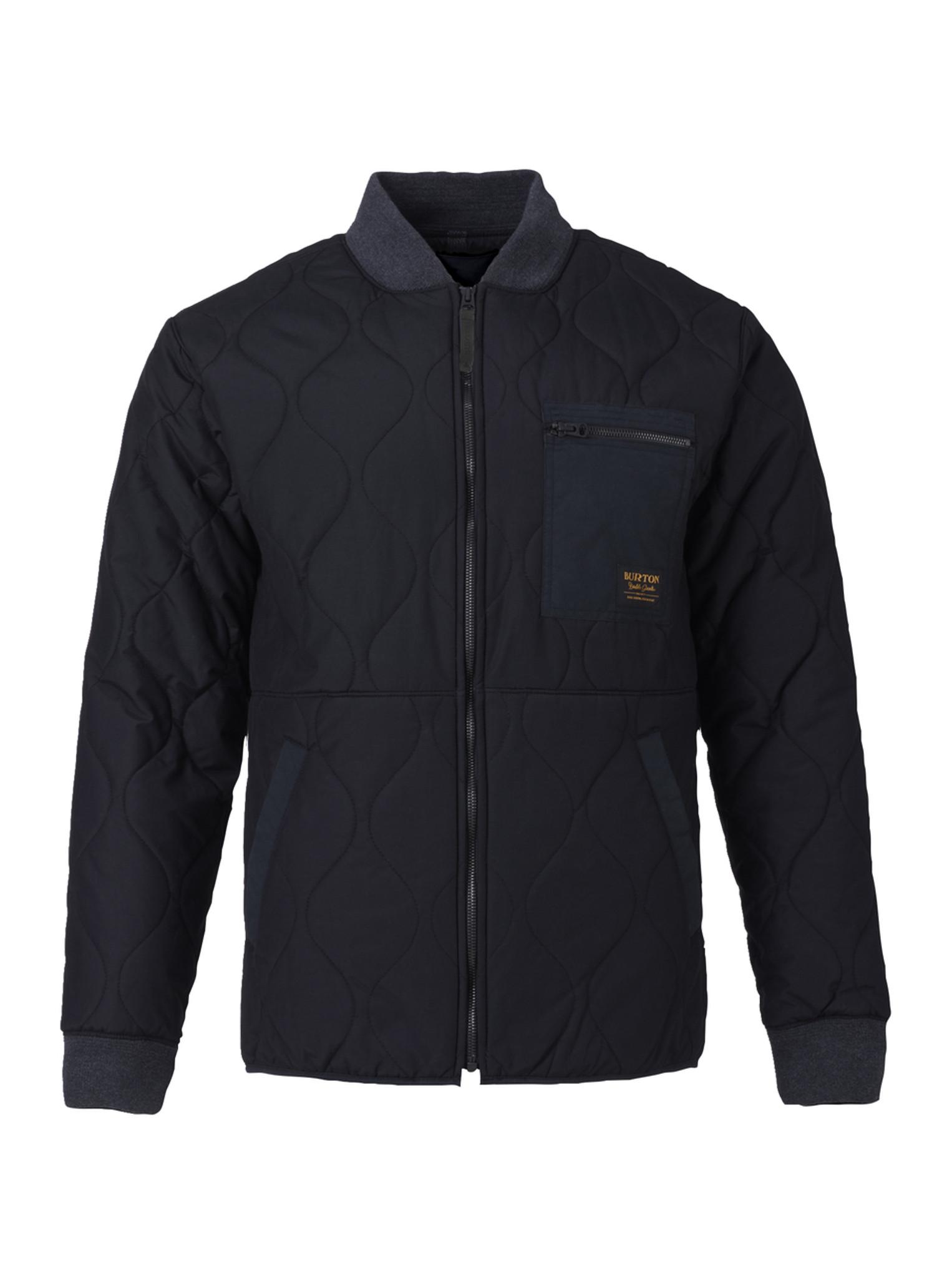 ebb67147cead Men s Burton Mallett Bomber Jacket True Black Snowboarding Clothing