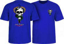 Powell Peralta Old School McGill Skull & Snake T-Shirt (Royal Blue)