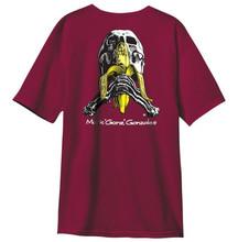 Blind Heritage Mark Gonzales Skull & Banana Vintage Burgundy Premium T-Shirt