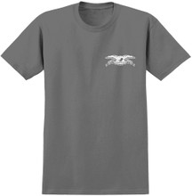 Antihero Skateboards Stock Eagle T-Shirt (Charcoal)