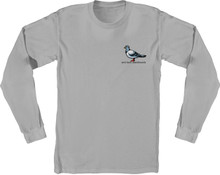 Antihero Skateboards Lil Pigeon Long Sleeve Shirt (Silver)