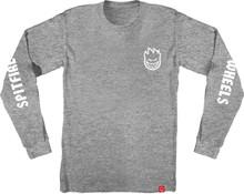 Spitfire Wheels Lil Bighead Hombre Long Sleeve Shirt (Athletic Heather)