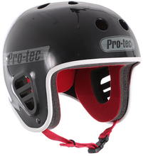 PRO-TEC Gloss Black Full Cut Helmet