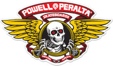 Powell Peralta Winged Ripper Die Cut Reissue Sticker (Red)