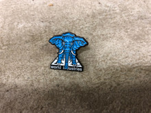 Prime Vallely Elephant on Edge Enamel Pin