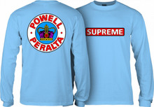 Powell Peralta Old School Supreme Long Sleeve Shirt (Available in 3 Colors)
