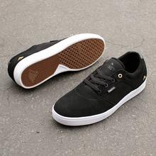 Emerica Figgy Dose Shoes (Black) FREE USA SHIPPING