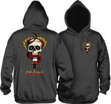 Powell Peralta Old School McGill Skull & Snake Hooded Sweatshirt (Available in 3 Colors)