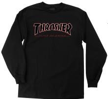 Thrasher x Independent Time to Grind Long Sleeve Shirt (Available in 2 Colors)