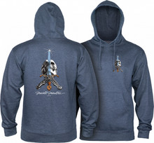 Powell Peralta Old School Skull & Sword Hooded Sweatshirt (Available in 4 Colors)