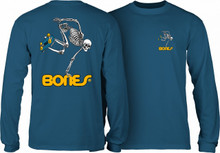 Powell Peralta Old School Skateboarding Skeleton Long Sleeve Shirt (New Colors)