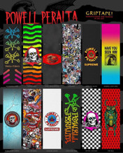 "Powell Peralta Graphic Grip Tape 10.5"" x 33"" (Choose)"