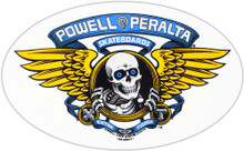 Powell Peralta Winged Ripper Reissue Sticker Blue