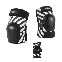 1-TRI Adult Pad Set Black Stripe (Choose Size)
