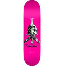 "Powell Peralta Skull & Sword Pastel Pink Deck 8.50"" x 32.08"""