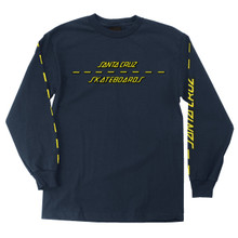 Santa Cruz Street Strip Long Sleeve Shirt (Available in 3 Colors)