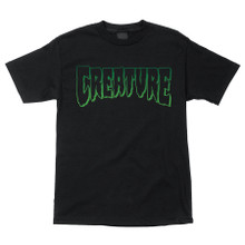Creature Logo Outline T-Shirt (Available in 2 Colors)