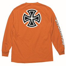 Independent Bar & Cross Longsleeve Shirt (Orange)