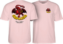 Powell Peralta Old School Caballero Dragon II T-Shirt Light Pink