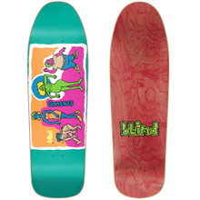 Blind Mark Gonzales Colored People Old School Re-Issue Deck Blue SCREENED