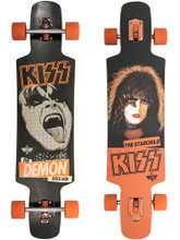 """Dusters KISS Complete Longboard 9.5"""" X 38.5"""" FREE USA SHIPPING"""