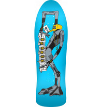 Powell Peralta Old School Barbee Ragdoll Re-Issue Deck Blue