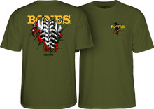 Powell Peralta Bones Shred T-Shirt (Available in 4 Colors)