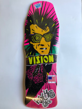 Vision Psycho Stick Old School Reissue Deck (Pink Stain)