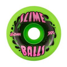 Slime Balls Splat Wheels 60mm/97a Green