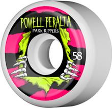 Powell Peralta Park Ripper PF Wheels 58mm (Set of 4)