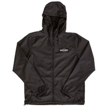 Independent O.B.G.C. Patch Hooded Windbreaker (Black)