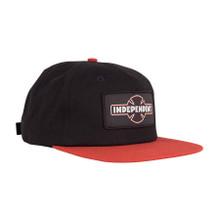 Independent Dual Pineline O.G.B.C. Strapback Mid Profile Hat (Black)