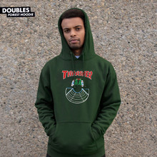 Thrasher Doubles Hooded Sweatshirt (Forest Green)