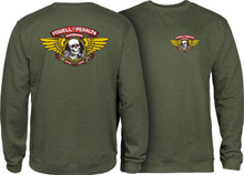 Powell Peralta Winged Ripper Crew Sweatshirt (Available in 4 Colors)
