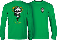 Powell Peralta McGill Skull & Snake Long Sleeve Shirt (Available in 4 Colors)