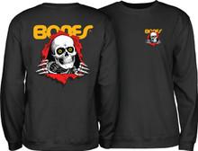 Powell Peralta Ripper Crew Sweatshirt (Black)