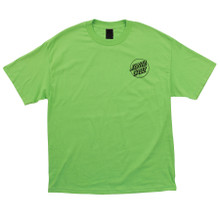 Santa Cruz Opus Dot T-Shirt (Safety Green)
