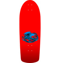 Powell Peralta Old School OG Ripper Checker Reissue Deck (Red)