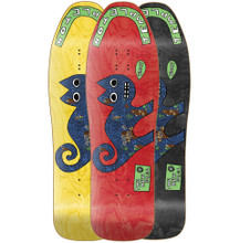 """New Deal Ed Templeton Cat Old School Reissue Screened Deck 9.75"""""""