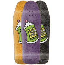 """New Deal Spray Can Old School Reissue Screened Deck 9.75"""""""